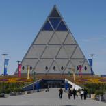 Astana e la piramide della pace