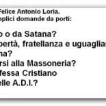 Quattro domande per Felice Antonio Loria, presidente delle A.D.I.