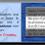 Il mago massone Aleister Crowley